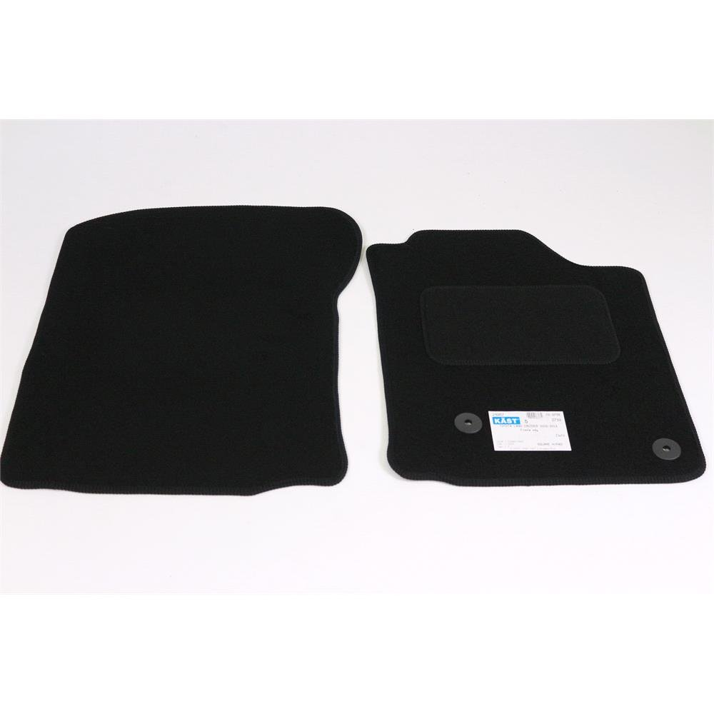 Fully Tailored Car Floor Mats Toyota Land Cruiser 150 2009 2013 Black