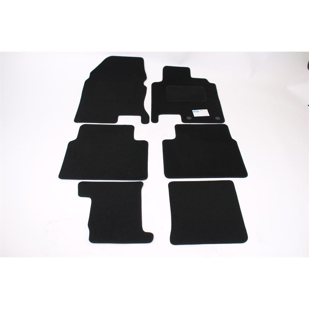 Fully Tailored Car Floor Mats Nissan Qashqai 2 2010 2014 Facelift