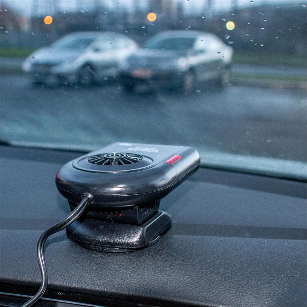 Car Heater and Defroster 12V, 160W with Thermostat