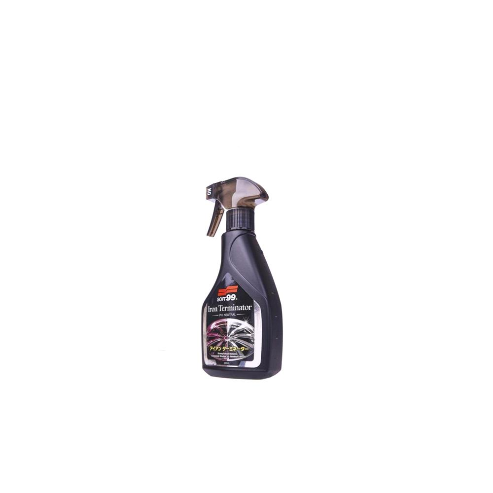 Soft99 Iron Terminator Colour Changing Wheel Cleaner   500ml