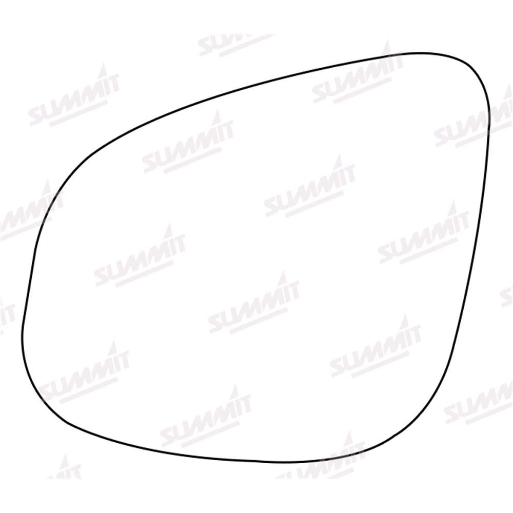 Wing Mirrors For Renault Kangoo Be Bop Micksgarage Van Wiring Diagram Left Stick On Mirror Glass 2012 2017
