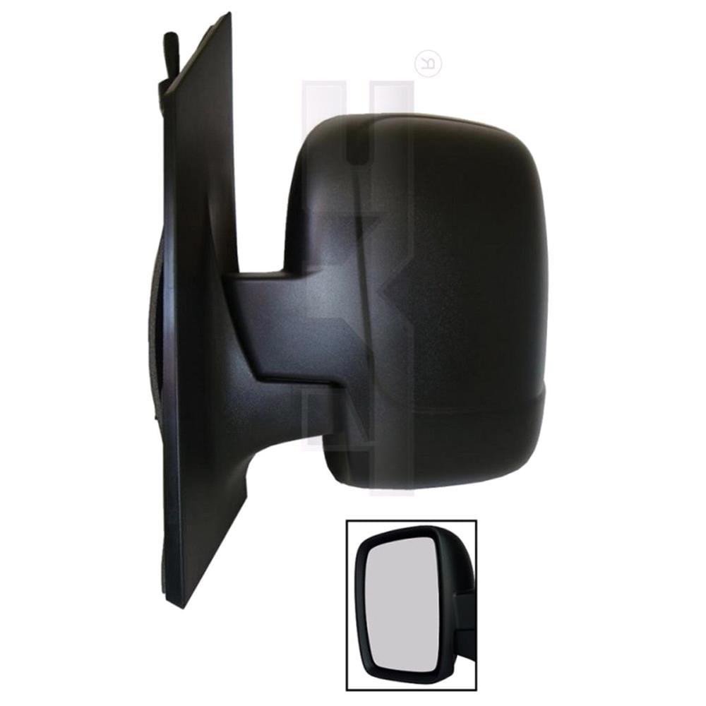 Left Mirror Manual Single Glass Peugeot Expert Tepee 2007 2017 Van Fuse Box Location