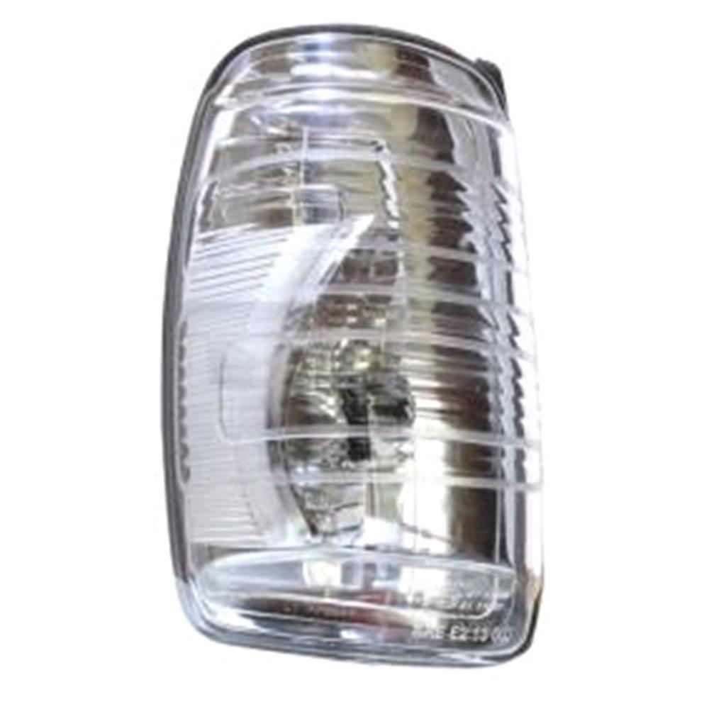 Left mirror indicator clear lens for ford transit van for Garage ford lens