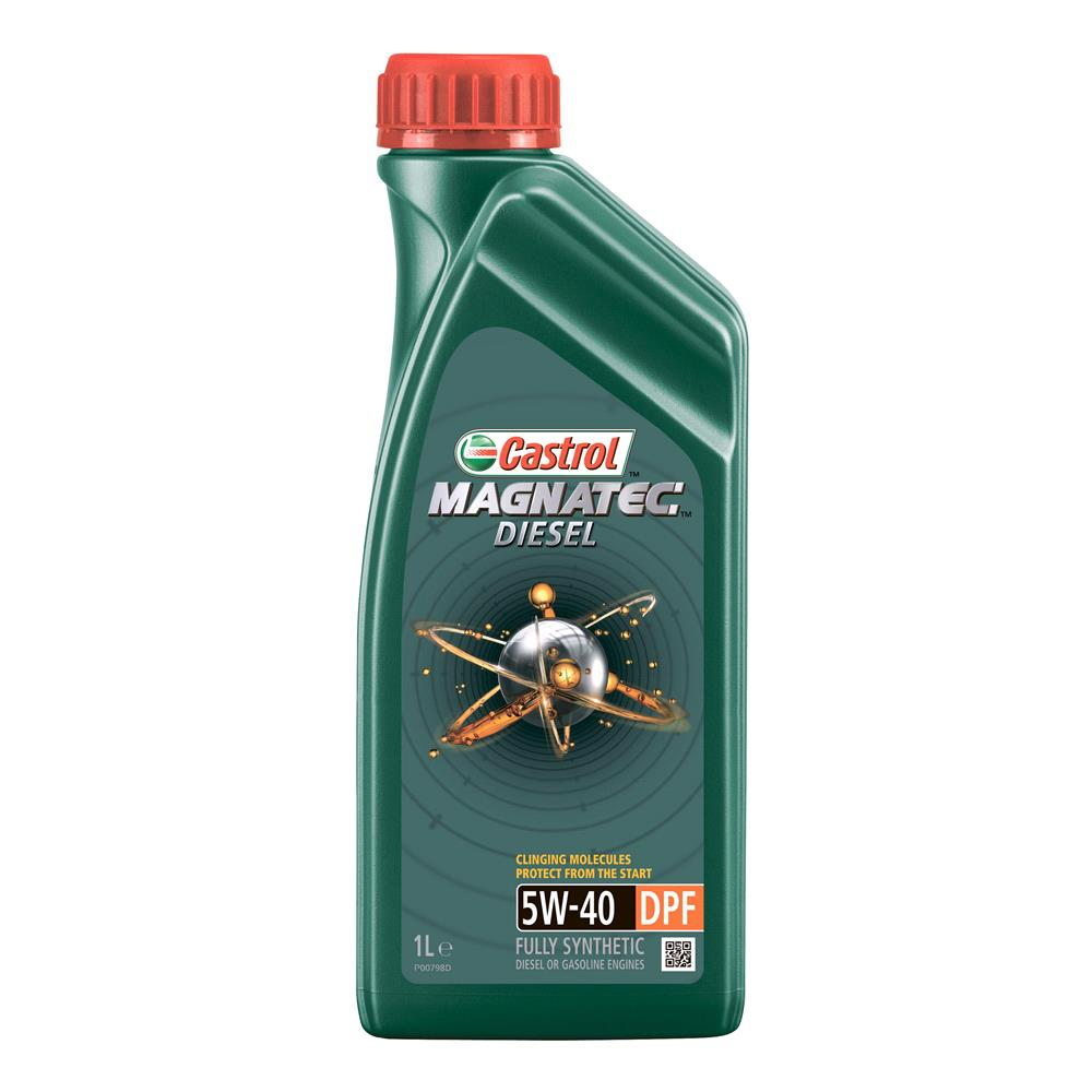 Castrol Magnatec Diesel 5W 40 Engine Oil DPF 1ltr *