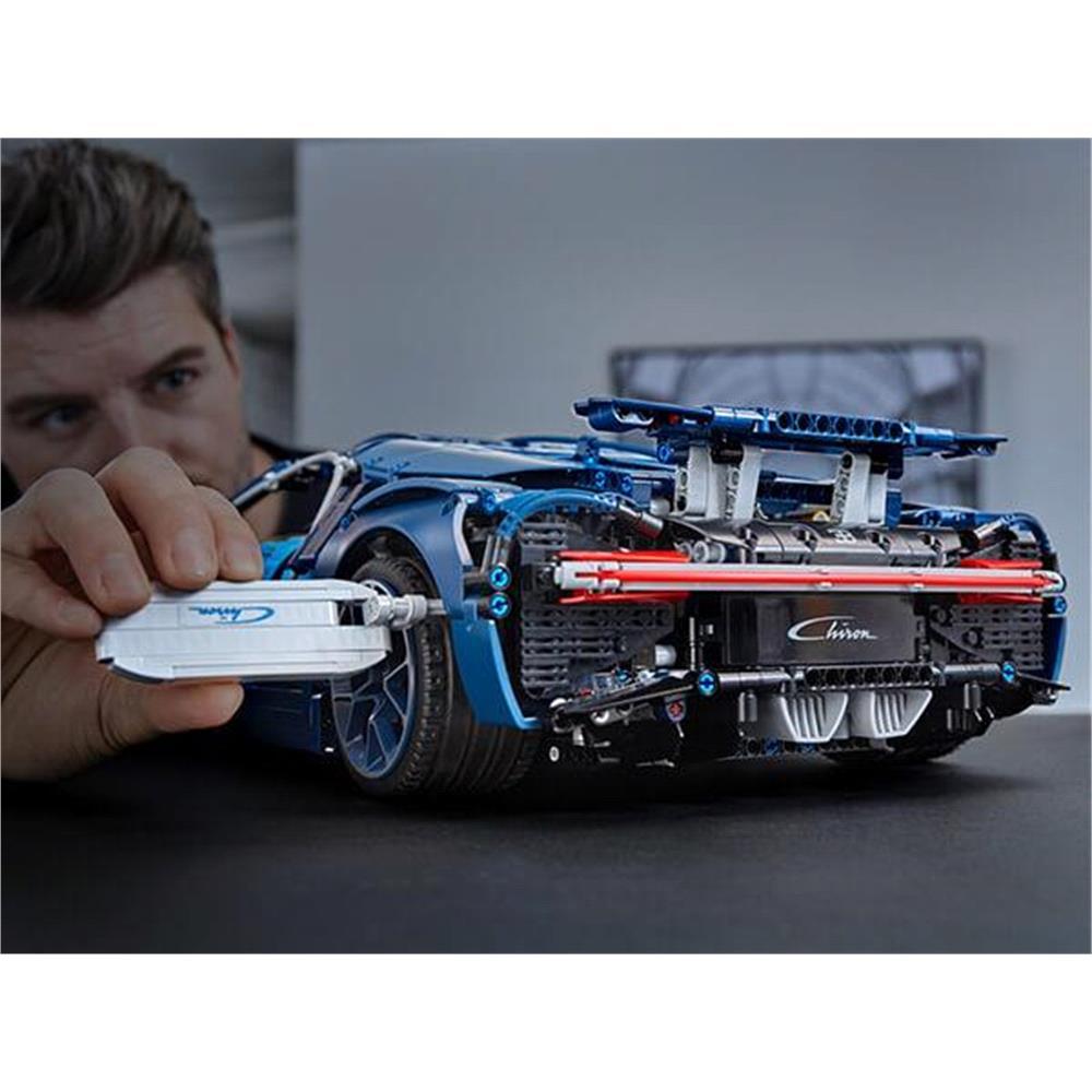 LEGO Technic: Bugatti Chiron Sports Race Car Set 42083