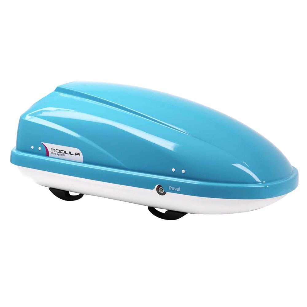 Travel Sport 370L Light Blue Roof Box