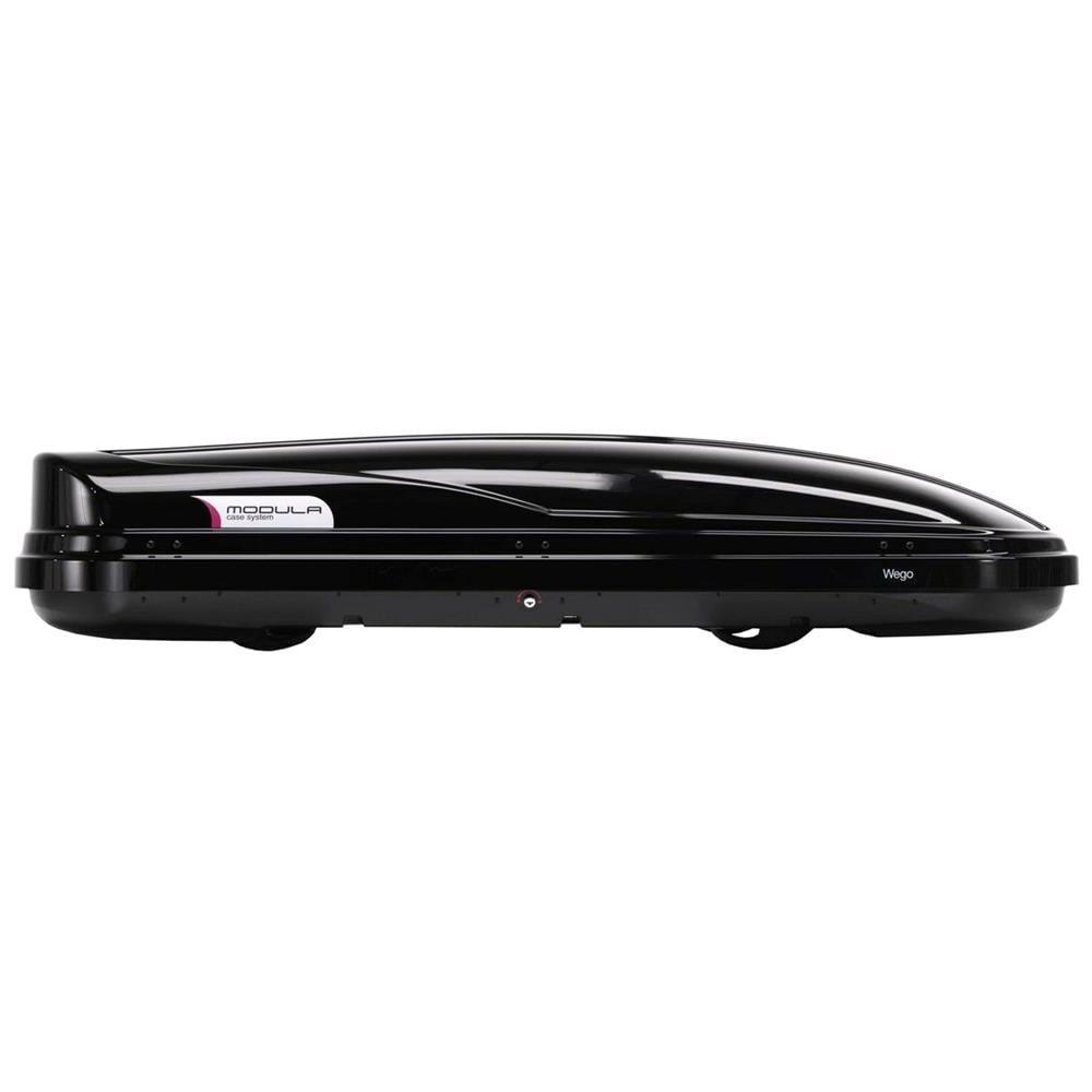 WEGO 500L Black Roof Box, Double side opening