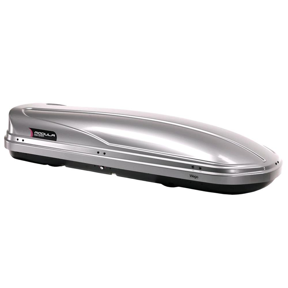WEGO 500L Silver Roof Box, Double side opening