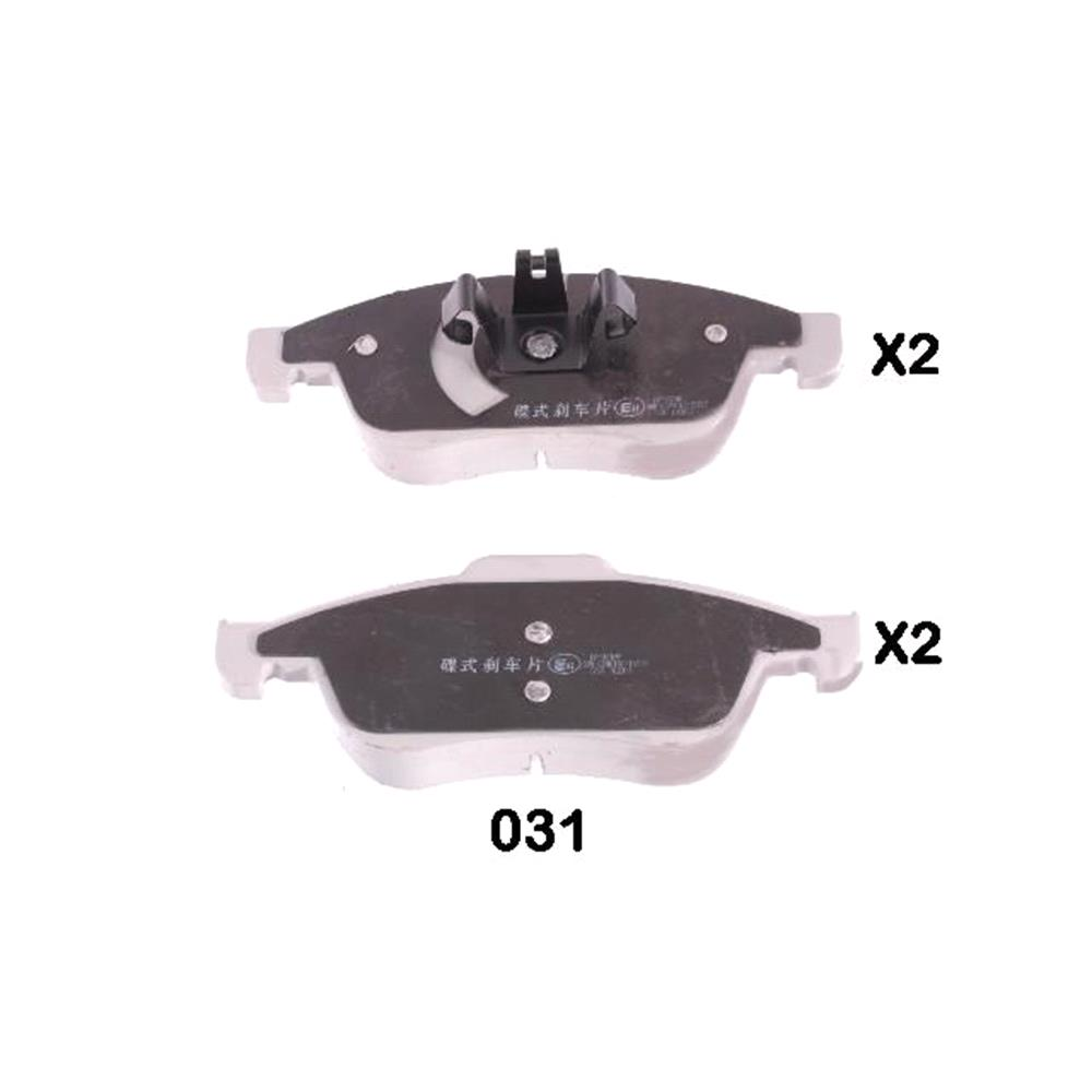 Lodal Front Axle Brake Shoes : Japanparts front brake pads full set for axle pa