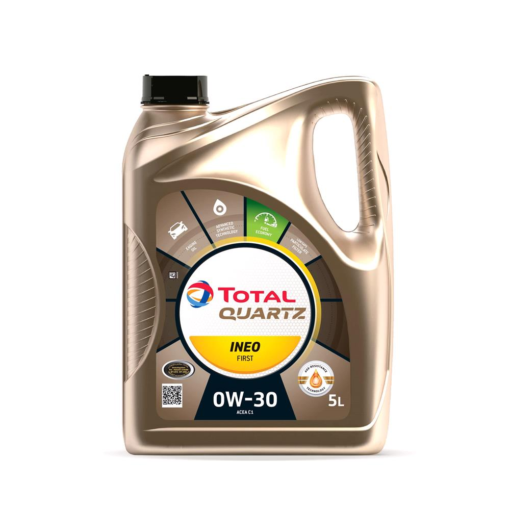 TOTAL Quartz INEO FIRST 0W 30 ENGINE OIL 5 LITRE