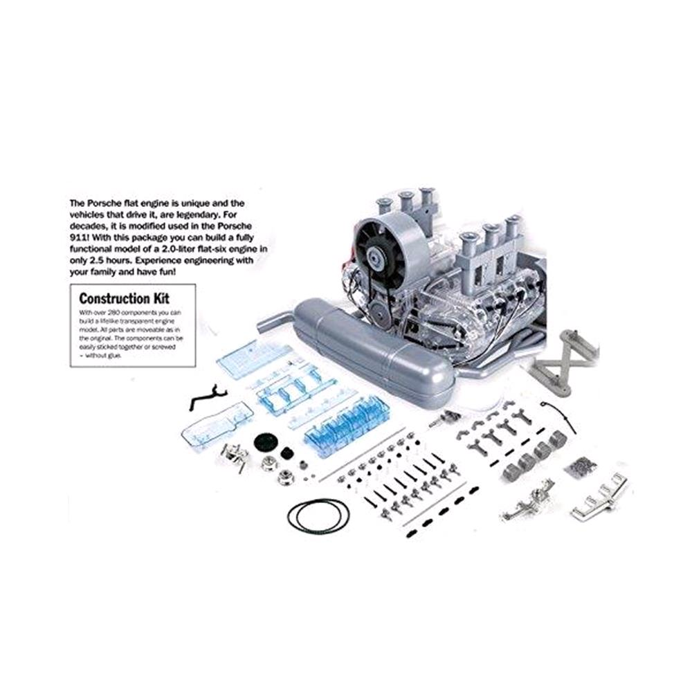 Porsche Flat Six Boxer Engine Model Kit