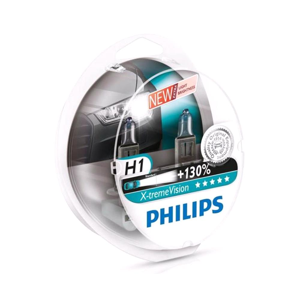 Philips X tremeVision H1 Bulbs for Ssangyong Rexton Suv 2003 Onwards