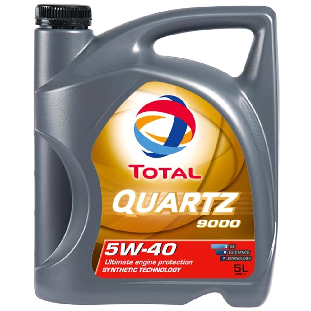 TOTAL Quartz 9000 5W 40 ENGINE OIL 5 LITRE