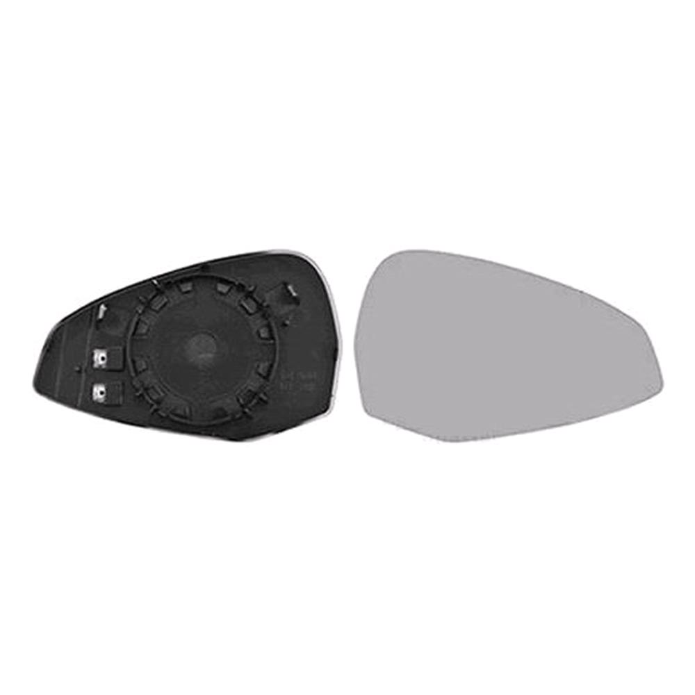 Right Mirror Glass (Heated) & Holder For Audi A4 Avant