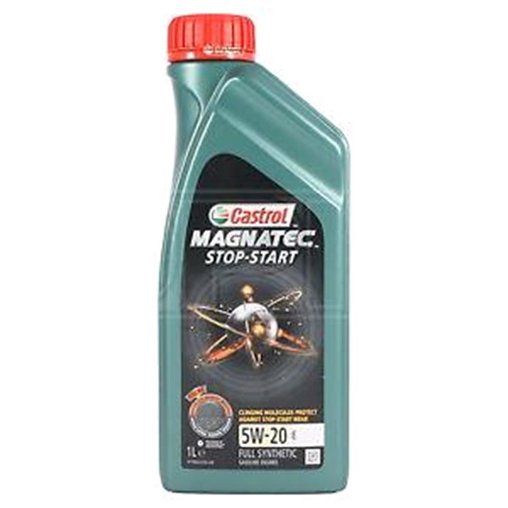 Castrol Magnatec 5W20 E Stop Start Fully Synthetic Engine Oil, 1 Litre