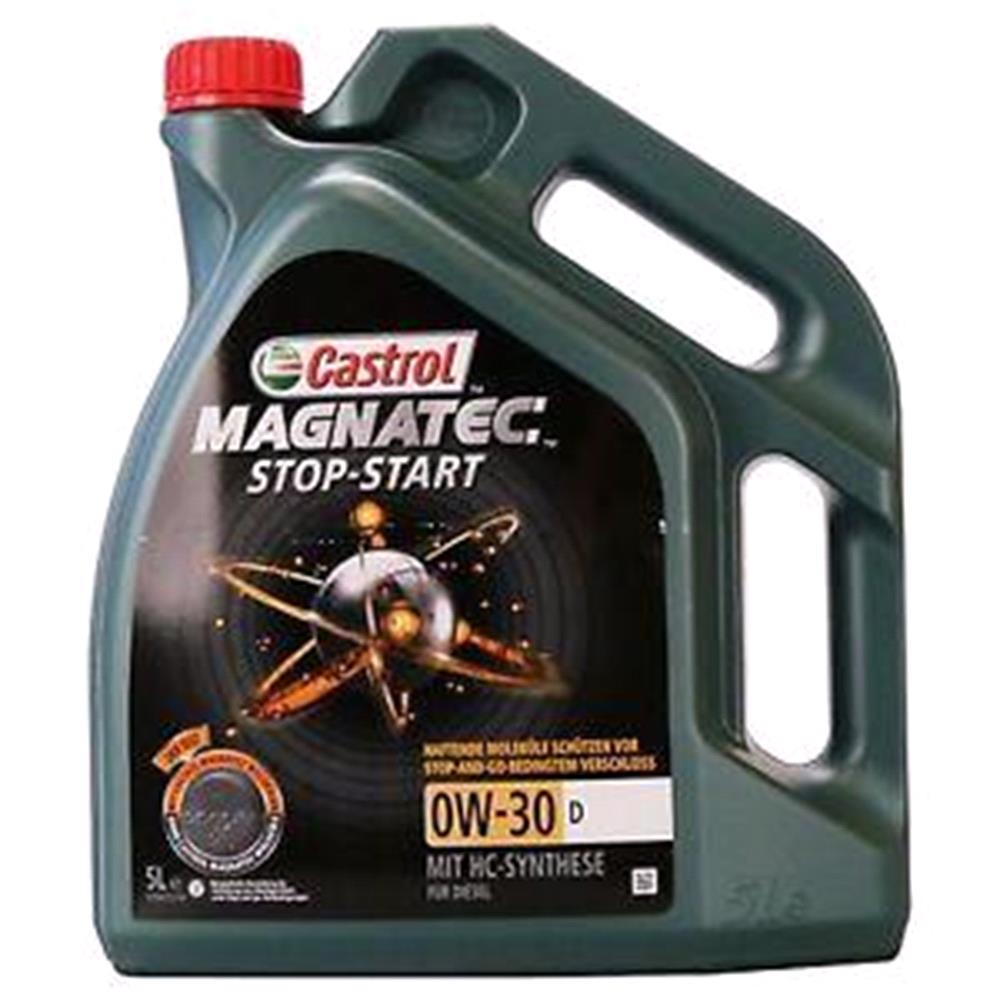 Castrol Magnatec 0W30 D Stop Start Fully Synthetic Engine Oil. 5 Litre