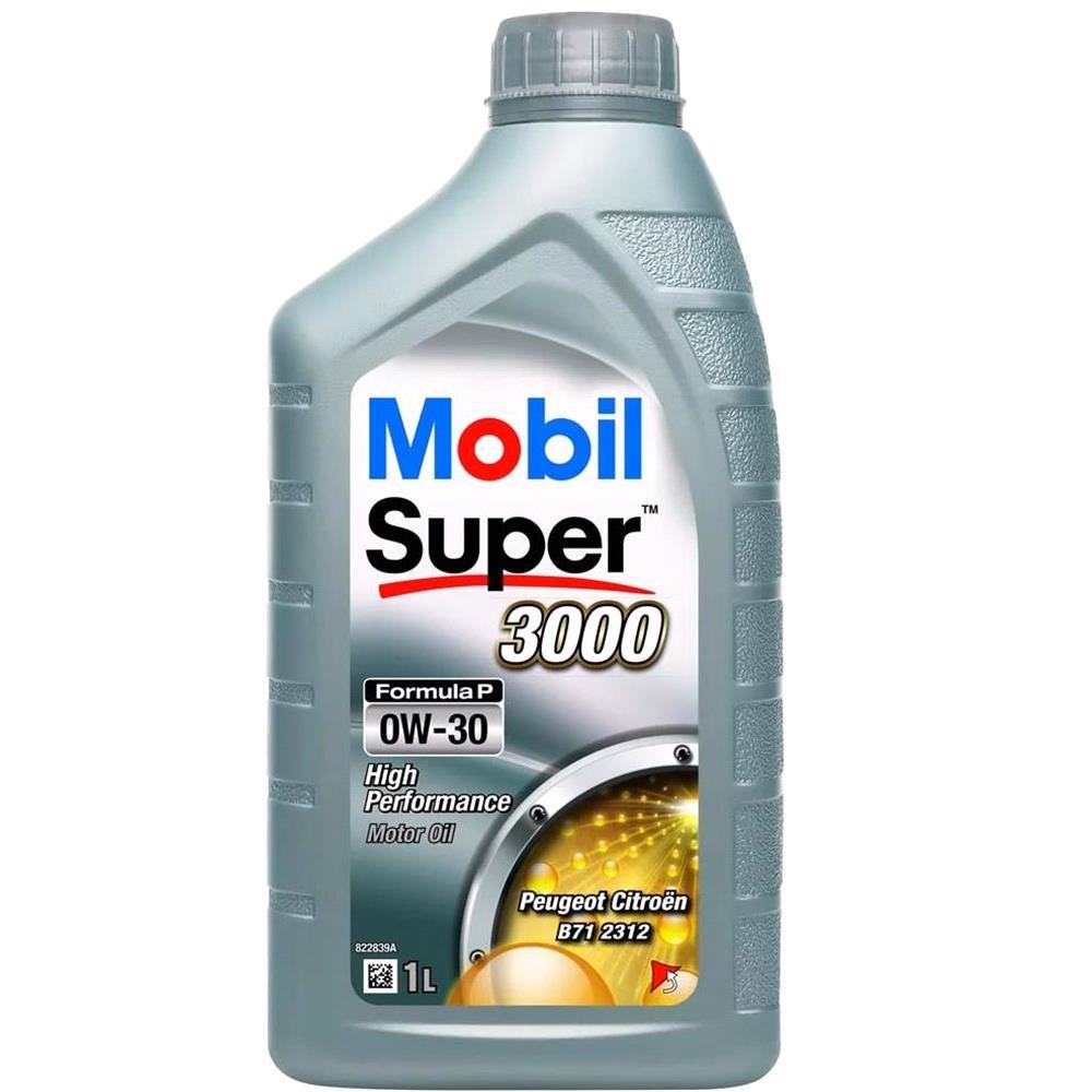 Mobil Super 3000 Formula P 5W30 Engine Oil. 1 Litre