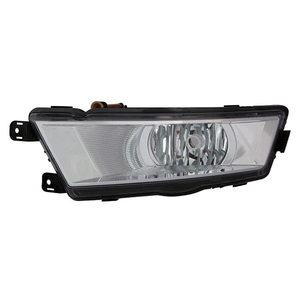 Lights For Skoda Rapid Spaceback Micksgarage Fuse Box Left Front Fog Lamp Black Bezel 2012 On