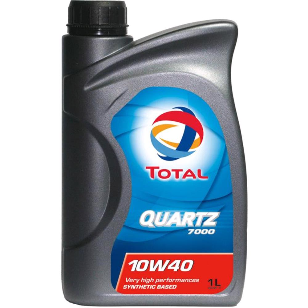 TOTAL Quartz 7000 10w40 Semi Synthetic Engine Oil. 1 Litre