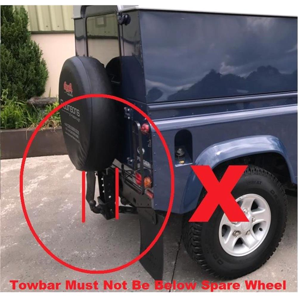 Towbar Mounted 3 Bike rack for Volvo 740 1983 to 1992