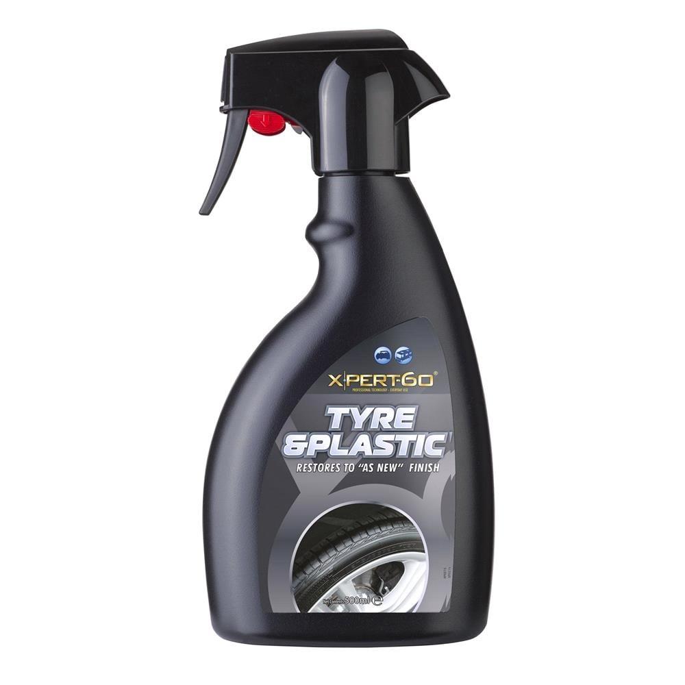 Concept® Xpert 60 Deep Black Satin Tyre & Plastic Spray 500ml