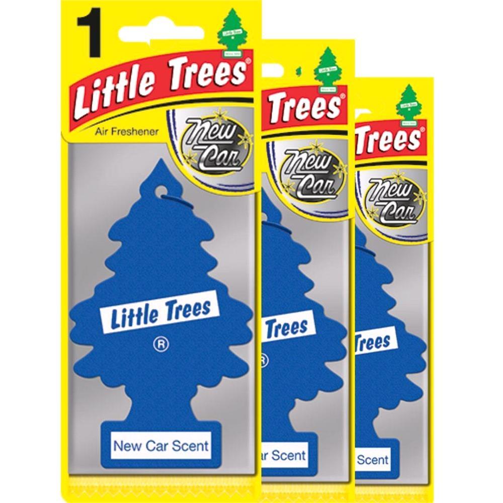 Little Trees New Car Air Freshener   3 Pack